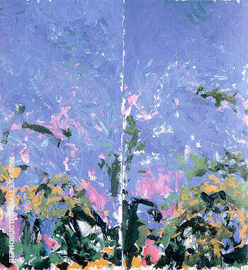 La Grande Vallee VI 1983 By Joan Mitchell Replica Paintings on Canvas - Reproduction Gallery