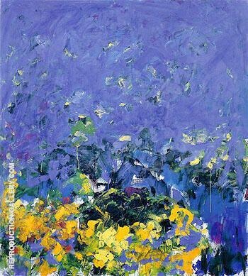La Grande Vallee L 1983 By Joan Mitchell