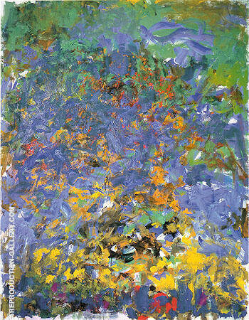 La Grande Vallee 1983 By Joan Mitchell Replica Paintings on Canvas - Reproduction Gallery