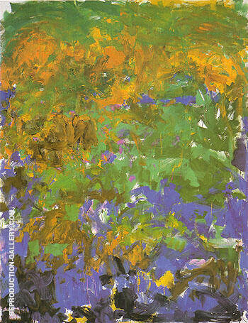 La Grande Vallee I 1983 By Joan Mitchell - Oil Paintings & Art Reproductions - Reproduction Gallery