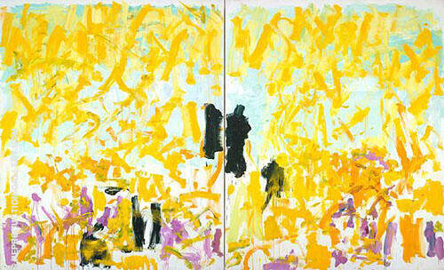 Cypress 1980 Painting By Joan Mitchell - Reproduction Gallery