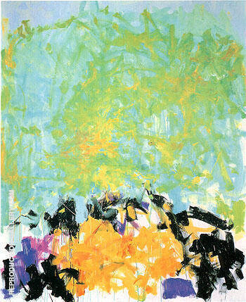 Another 1980 By Joan Mitchell Replica Paintings on Canvas - Reproduction Gallery