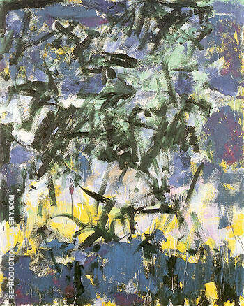Untitled 1978 65 Painting By Joan Mitchell - Reproduction Gallery