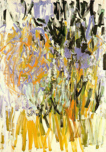 Straw 1976 By Joan Mitchell Replica Paintings on Canvas - Reproduction Gallery