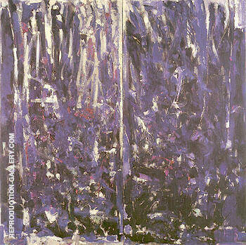 Reproduction of Une Pensee Pour Zouka 1976 by Joan Mitchell | Oil Painting Replica On CanvasReproduction Gallery