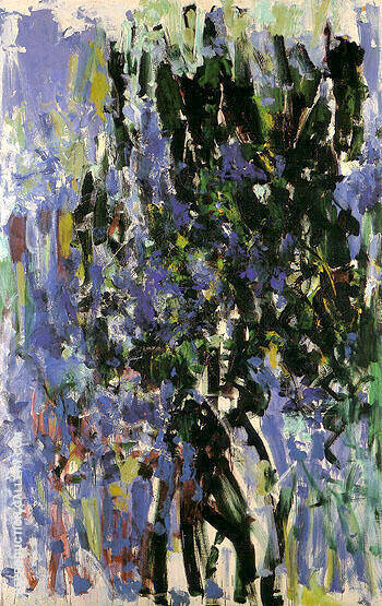 Green Tree 1976 By Joan Mitchell - Oil Paintings & Art Reproductions - Reproduction Gallery