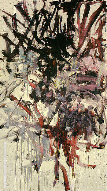 Reproduction of Red Tree 1976 by Joan Mitchell | Oil Painting Replica On CanvasReproduction Gallery