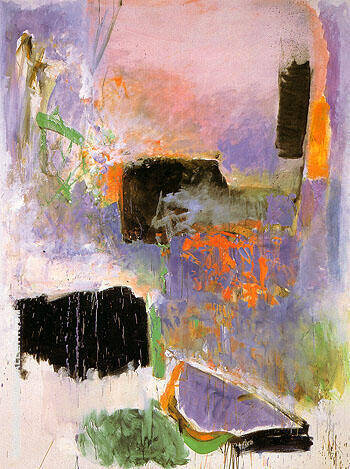 Mooring 1971 By Joan Mitchell - Oil Paintings & Art Reproductions - Reproduction Gallery