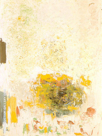 Reproduction of Sunflower 1970 50 by Joan Mitchell | Oil Painting Replica On CanvasReproduction Gallery
