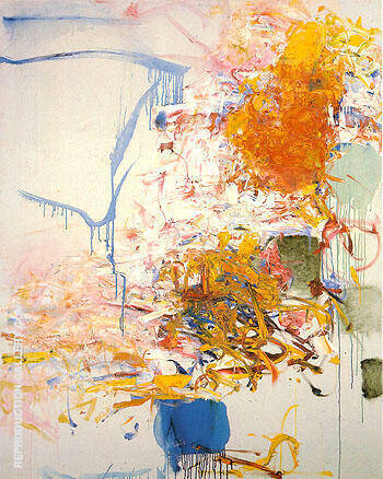 Untitled 1969 49 By Joan Mitchell - Oil Paintings & Art Reproductions - Reproduction Gallery