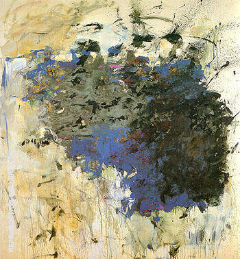 Untitled Cheim Some Bells 1964 Painting By Joan Mitchell