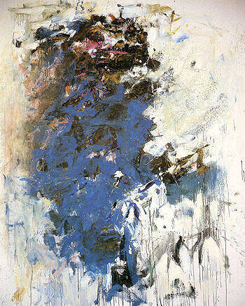 Blue Tree 1964 By Joan Mitchell Replica Paintings on Canvas - Reproduction Gallery
