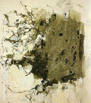 First Cypress 1964 By Joan Mitchell