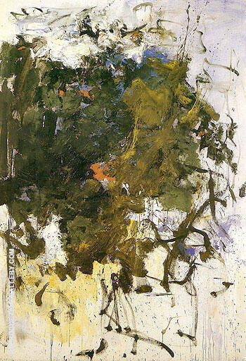 Reproduction of Untitled 1964 39 by Joan Mitchell | Oil Painting Replica On CanvasReproduction Gallery