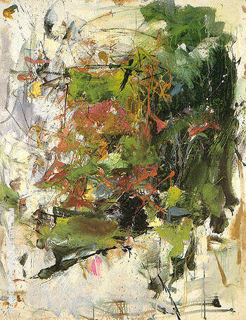 Untitled 1962 36 Painting By Joan Mitchell - Reproduction Gallery