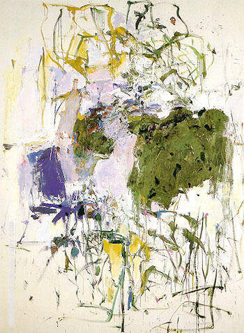 Untitled 1963 37 By Joan Mitchell - Oil Paintings & Art Reproductions - Reproduction Gallery