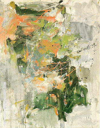 Untitled 1962 35 By Joan Mitchell - Oil Paintings & Art Reproductions - Reproduction Gallery
