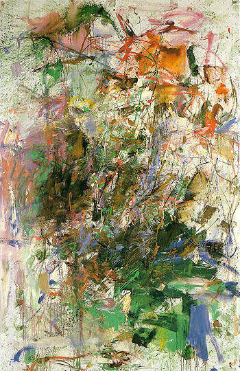 Bonhomme de Bois c1961 By Joan Mitchell - Oil Paintings & Art Reproductions - Reproduction Gallery