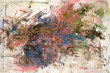Grandes Carrieres c1961 By Joan Mitchell Replica Paintings on Canvas - Reproduction Gallery
