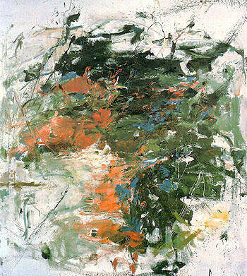 Mandres c1961 By Joan Mitchell Replica Paintings on Canvas - Reproduction Gallery