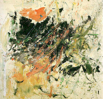 Reproduction of Fremicourt c1961 by Joan Mitchell | Oil Painting Replica On CanvasReproduction Gallery
