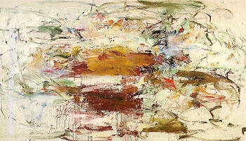 Reproduction of County Clare 1960 by Joan Mitchell | Oil Painting Replica On CanvasReproduction Gallery