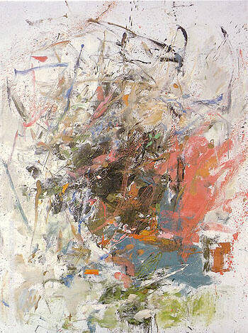 Chatiere 1960 By Joan Mitchell - Oil Paintings & Art Reproductions - Reproduction Gallery