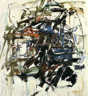 Untitled c1960 26 Painting By Joan Mitchell - Reproduction Gallery