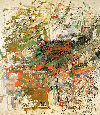 Untitled 1960 27 By Joan Mitchell - Oil Paintings & Art Reproductions - Reproduction Gallery