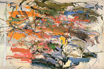 Untitled c1959 25 By Joan Mitchell - Oil Paintings & Art Reproductions - Reproduction Gallery