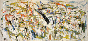 Untitled 1958 24 Painting By Joan Mitchell - Reproduction Gallery