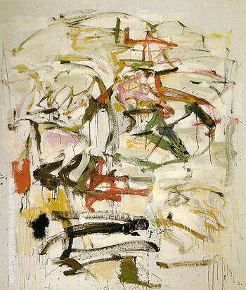 Untitled 1958 21 By Joan Mitchell