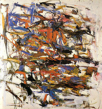 Untitled 1957 19 By Joan Mitchell - Oil Paintings & Art Reproductions - Reproduction Gallery