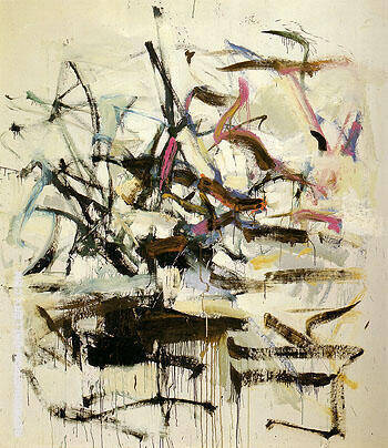 Untitled 1958 20 By Joan Mitchell - Oil Paintings & Art Reproductions - Reproduction Gallery
