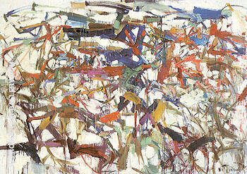 Ladybug 1957 By Joan Mitchell Replica Paintings on Canvas - Reproduction Gallery