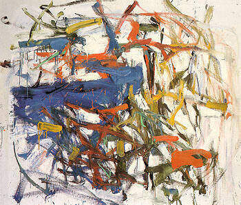 Reproduction of Untitled 1958 18 by Joan Mitchell | Oil Painting Replica On CanvasReproduction Gallery