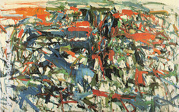 To the Harbormaster 1957 By Joan Mitchell - Oil Paintings & Art Reproductions - Reproduction Gallery