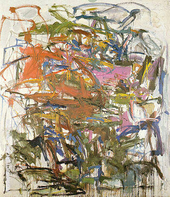 Reproduction of Untitled 1958 16 by Joan Mitchell | Oil Painting Replica On CanvasReproduction Gallery