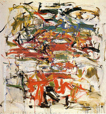 Untitled 1957 14 By Joan Mitchell