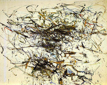 October Island c1956 By Joan Mitchell