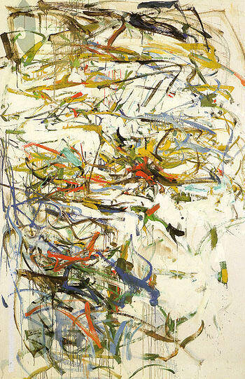 Untitled 1956 8 By Joan Mitchell
