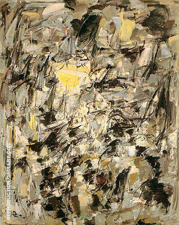 Untitled 1954 5 By Joan Mitchell - Oil Paintings & Art Reproductions - Reproduction Gallery