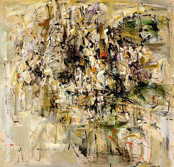 Reproduction of Painting 1953 by Joan Mitchell | Oil Painting Replica On CanvasReproduction Gallery