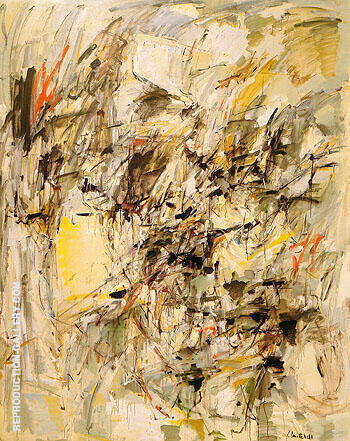 Untitled 1954 4 By Joan Mitchell - Oil Paintings & Art Reproductions - Reproduction Gallery