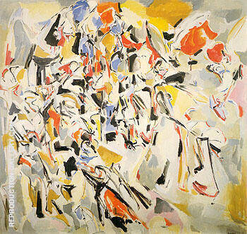 Untitled c1950 1 By Joan Mitchell