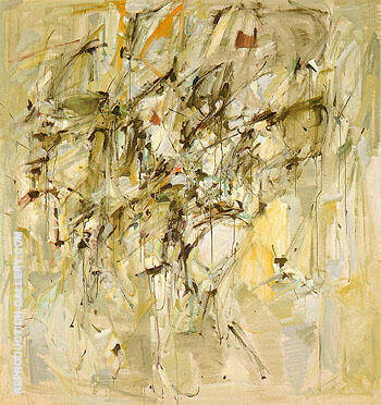 Rose Cottage 1953 By Joan Mitchell