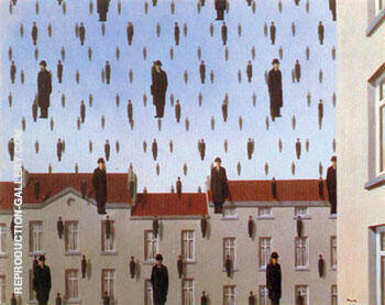 Golconda 1953 By Rene Magritte