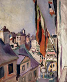 Street Decked with Flags 1906 By Raoul Dufy