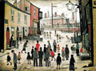 The Procession 1938 By L-S-Lowry