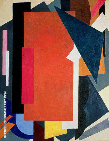 Painterly Architectonics c 1916/17 By Lyubov Sergeevna Popova